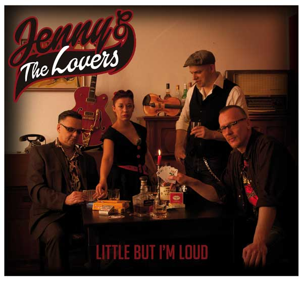 Jenny and The Lovers Little But I'm Loud CD